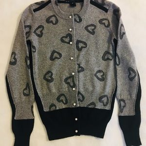 Marc by Marc Jacobs Hearts Cardigan XS